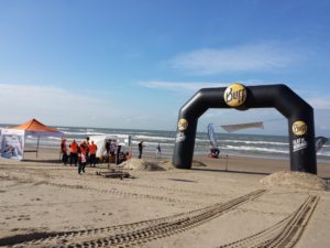 Finish of the Dutch Coast Race