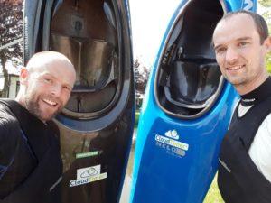 Robert and Maarten founders of CloudTimer