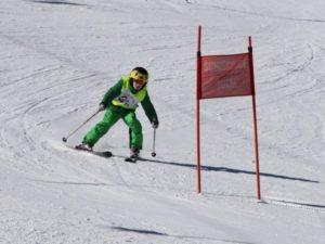 Timing ski races