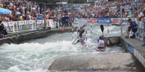 canoe slalom race cloudtimer