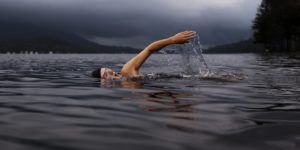 open-water-swimming with cloudtimer