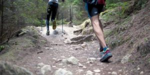 trail running race with Cloudtimer