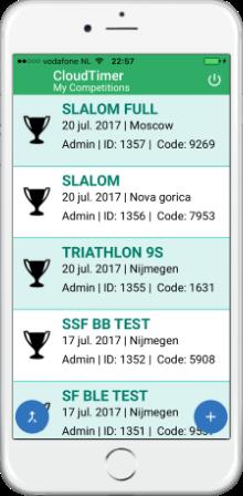 race menu IOS