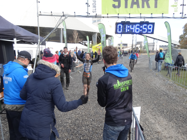 Cross Duathlon finish
